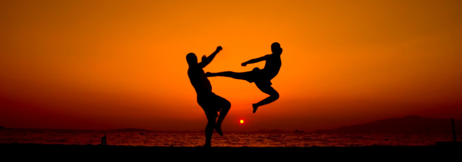 High Kick Sun Set